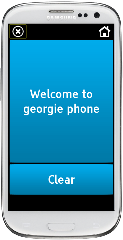 Georgie Phone- screenshot