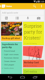 Google Keep - notes and lists Screenshot 1
