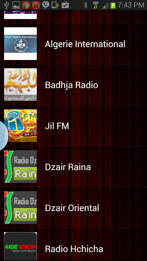 Algeria Radio Live - screenshot