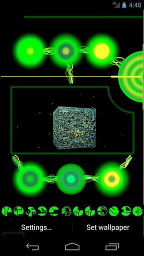 Borg Console Live Wallpaper