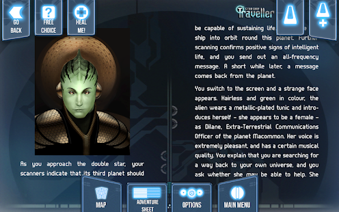 Starship Traveller- screenshot thumbnail