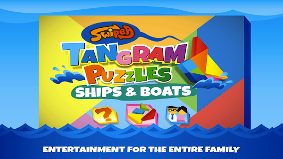 Kids Tangram Puzzles: Ships - screenshot thumbnail