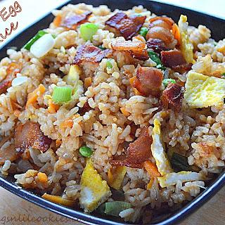 Freaky Friday - Bacon & Egg Fried Rice