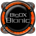 Bionic Launcher Theme Orange icon