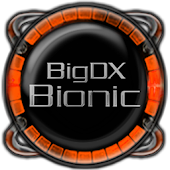 Bionic Launcher Theme Orange