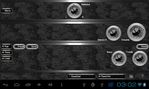 poweramp skin black snake Screenshot 9