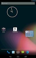 Screenshot of Pregnancy watcher widget