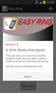 Easy Ring screenshot