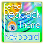 Perfect Peacock Keyboard Skin