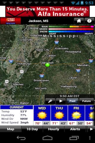 First Alert Weather - screenshot