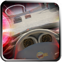 3D Racing Car On Track LWP icon