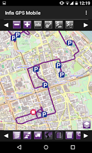 Infis GPS Mobile - screenshot thumbnail