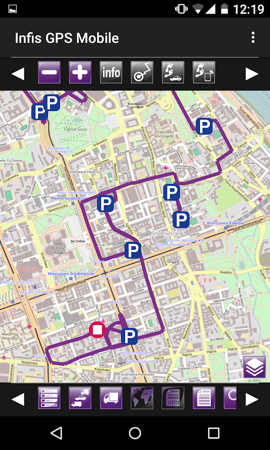 Infis GPS Mobile- screenshot