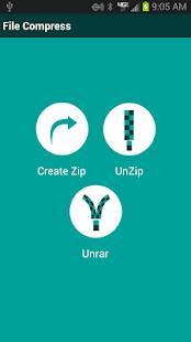 Zip Unzip UnRAR