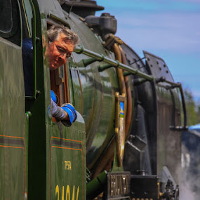 West Somerset Railway by Claes Wåhlin - Transportation Trains ( steam locomotive, england, trains, west somerset railway, braunton,  )