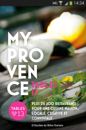 MyProvence Tables 13