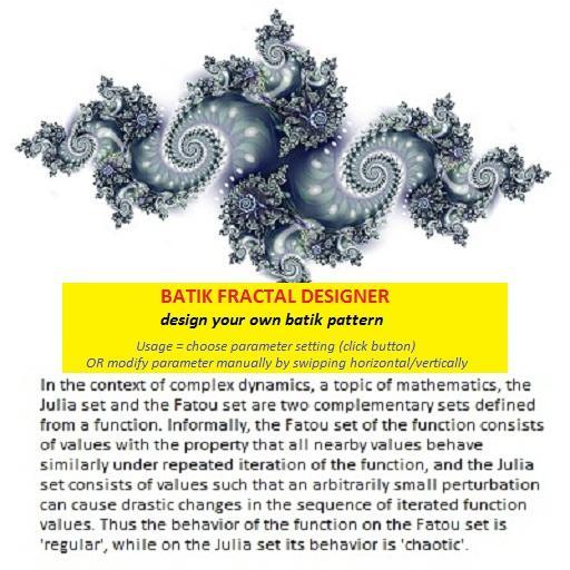Design Your Own Batik Fractal