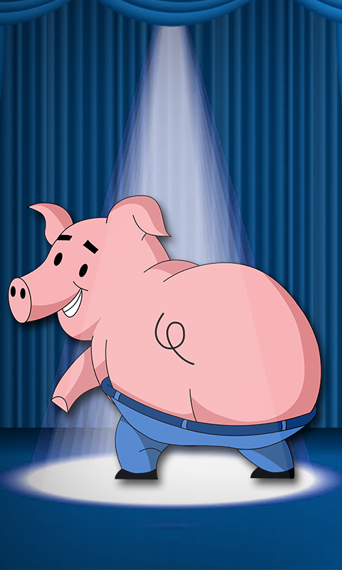 Dancing Pig Live Wallpaper - screenshot