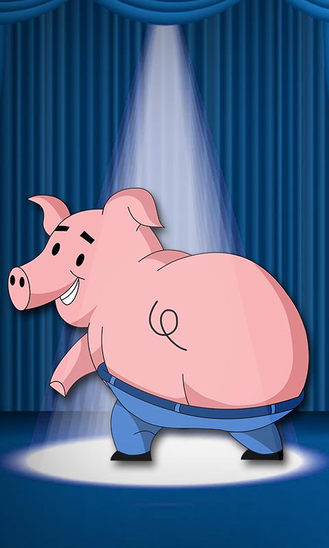 Dancing Pig Live Wallpaper - screenshot
