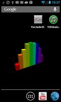 Screenshot of 3D Spectrum Analyzer LWP