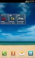 Screenshot of Chemical Elements Clock