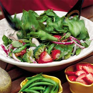 Spinach-and-Strawberry Salad.
