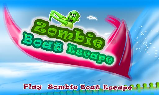 Zombie Tsunami - Boat Escape