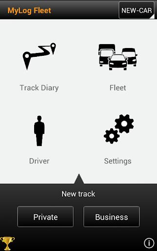 MyLog Fleet GPS Trips Logbook