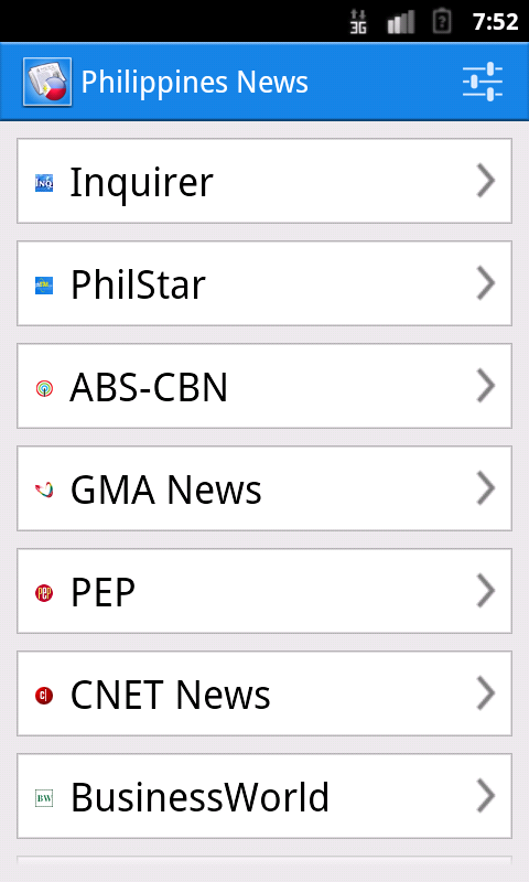 Philippines News- screenshot