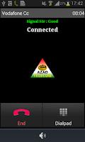 Screenshot of Azad Telecom