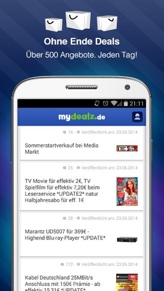 mydealz Schnäppchen&Gutscheine - screenshot