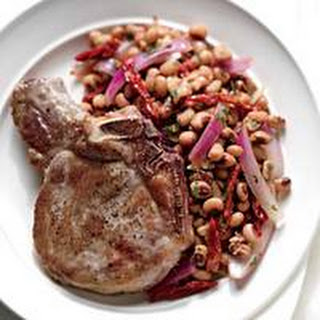 Pork Chops With Black Eyed Peas Recipes.