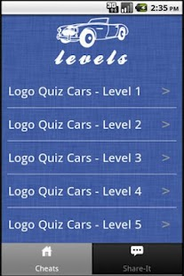 Logo Quiz Cars - Guide - screenshot thumbnail
