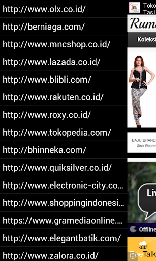 Indonesia onlineshop launcher