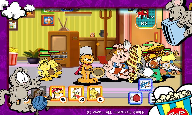 Garfield's Defense - screenshot