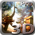 Tree Village 3D Pro lwp icon