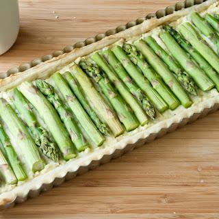 Asparagus and Ricotta Tart.