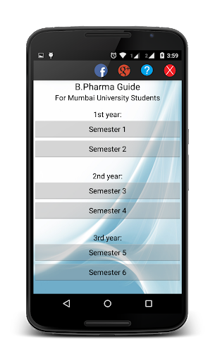 B.Pharmacy Syllabus Guide MU