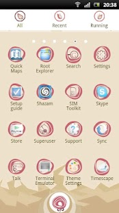 Rose GO Launcher EX Theme- screenshot thumbnail