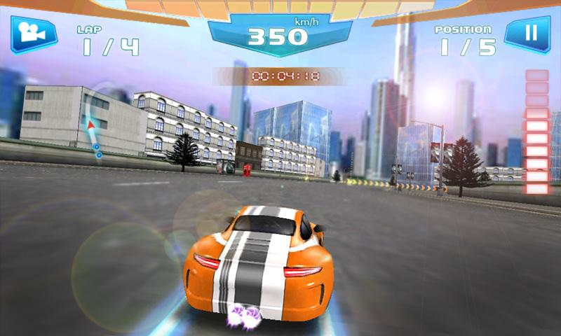 Fast Racing 3D- screenshot