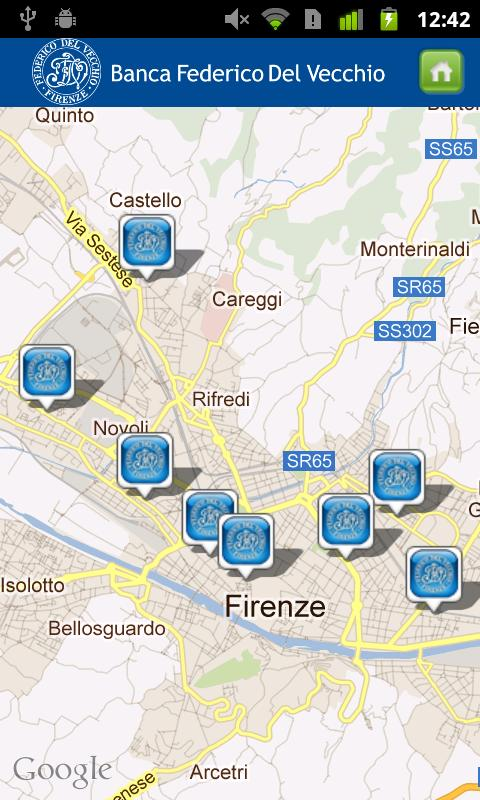 MOBILE BANKING B. DEL VECCHIO- screenshot