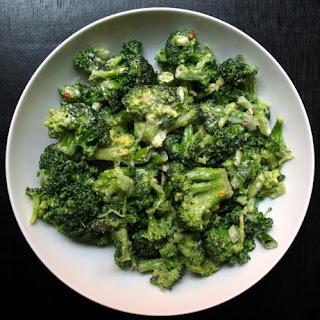 Broccoli + Tahini-Miso Dressing