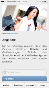 Erfurt App- screenshot thumbnail