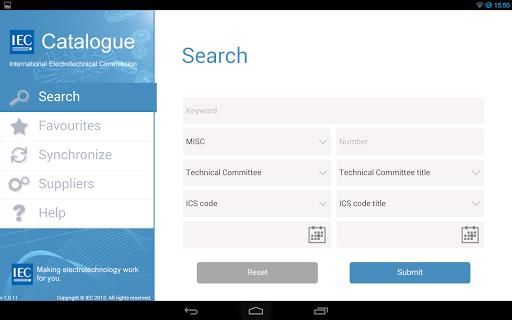 IEC Catalogue