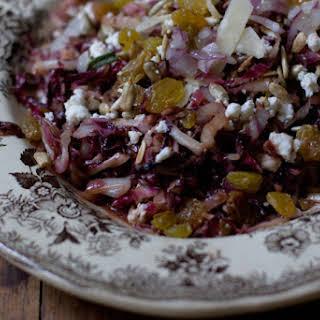 Tassajara Warm Red Cabbage Salad.