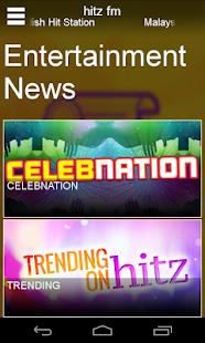 hitz.fm- screenshot thumbnail