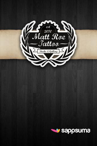 Matt Roe Tattoo