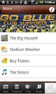 Michigan Wolverines Football- screenshot thumbnail
