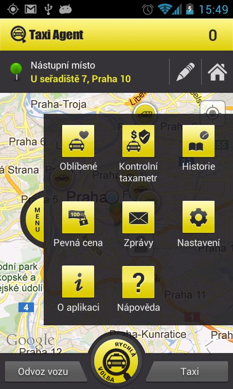 TaxiAgent - screenshot