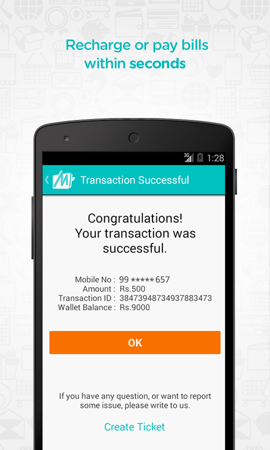 Mobile Recharge and Bill Pay - screenshot